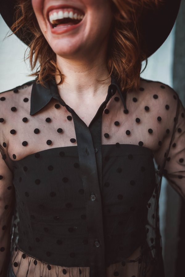 How I Styled a Sheer Dress | Greta Hollar