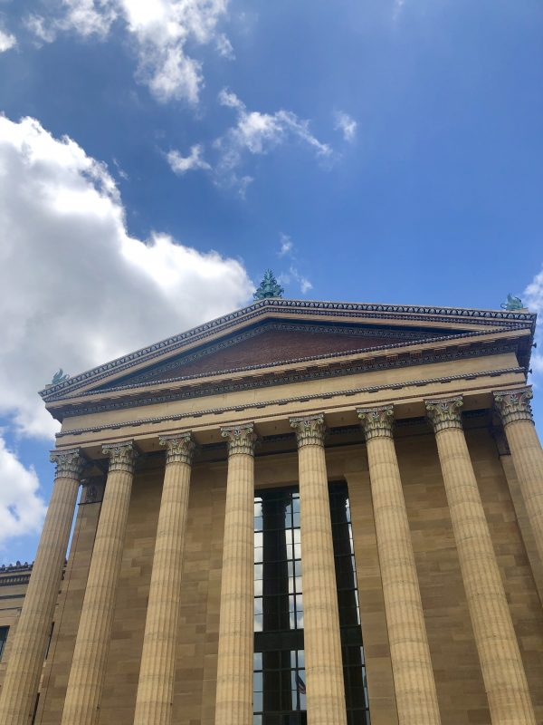 Weekend in Philly | Travel Guide | Greta Hollar | Weekend in Philadelphia | Travel Guide by popular Nashville travel blog, Greta Hollar: image of the Philadelphia Museum of Art.