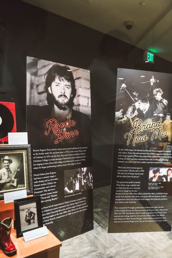Troubadour Membership at The Country Music Hall of Fame and Museum | Greta Hollar | Troubadour Membership at The Country Music Hall of Fame and Museum in Nashville by popular Nashville blogger, Greta Hollar: image of Brooks and Dunn memorabilia at the Country Music Hall of Fame and Museum