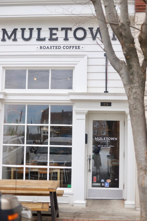 A Day Trip to Columbia, TN | Greta Hollar | Day Trips from Nashville TN: A trip to Columbia TN by popular Nashville blogger, Greta Hollar: image of Muletown Roasted Coffee in Columbia TN.