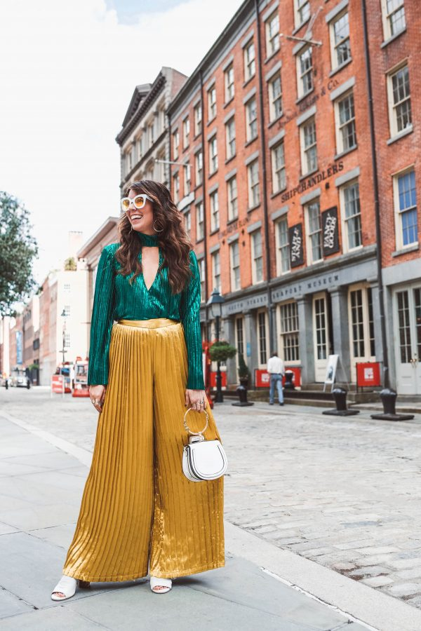 5 of My Street Style Looks from NYFW | Greta Hollar