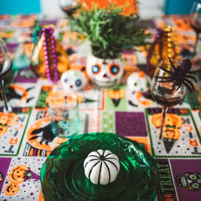 Halloween Tablescape | Greta Hollar