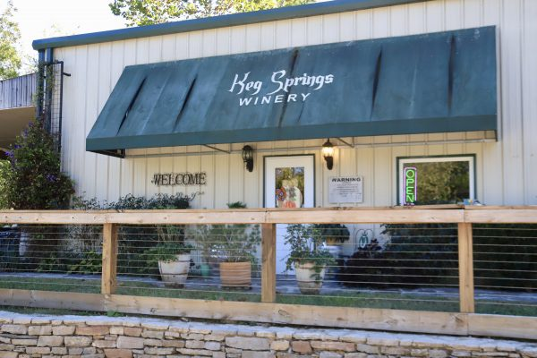 A Couples Getaway to Hohenwald, TN | Greta Hollar | A Couples Getaway: Things to do in Hohenwald TN by popular Nashville travel blogger, Greta Hollar: image of Keg Springs Winery.