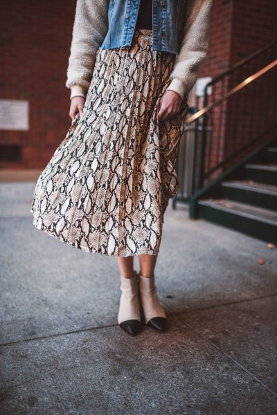 Perfect Winter Skirt That's Under $50 | Greta Hollar