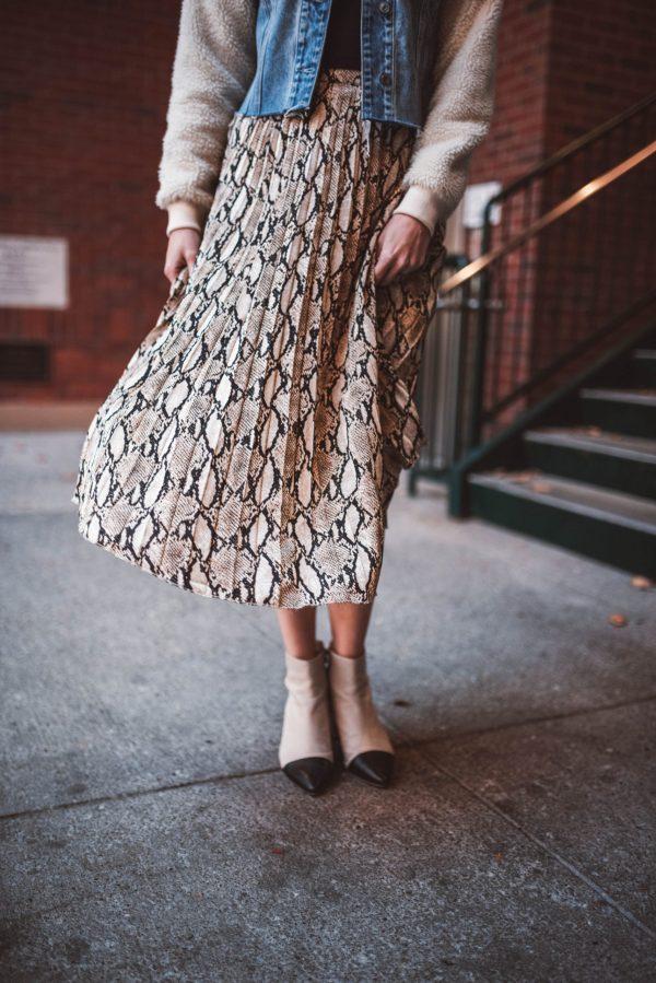 Perfect Winter Skirt That's Under $50 | Greta Hollar