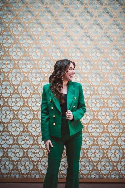 Suiting Up for Your Next Holiday Party | Greta Hollar