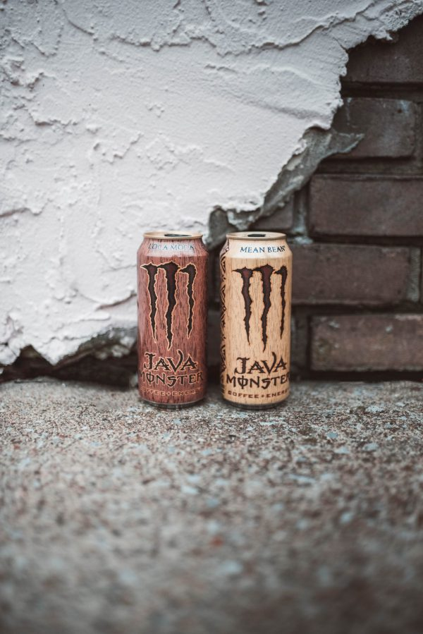How to Stay Energized Through the Holiday Season by popular Nashville life and style blogger, Greta Hollar: image of two Java Monster energy drinks.
