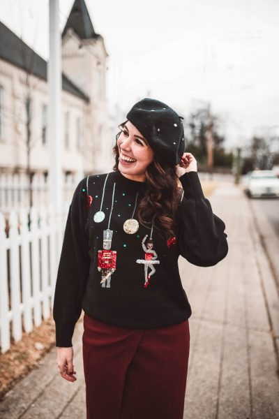 5 of My Favorite Christmas Sweaters | Greta Hollar