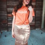 How to Style a Sequin Skirt | Greta Hollar