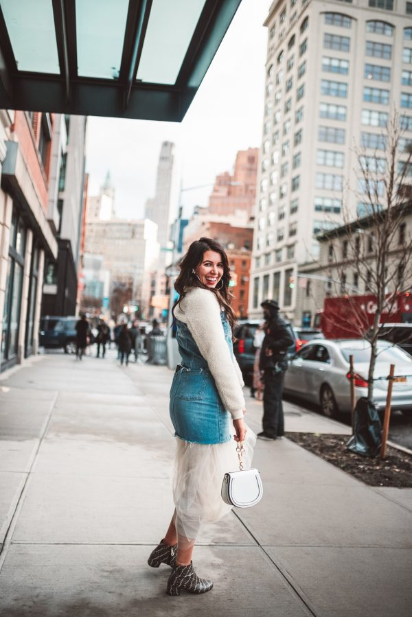 How to Wear your Spring Favorites in Late Winter | Greta Hollar