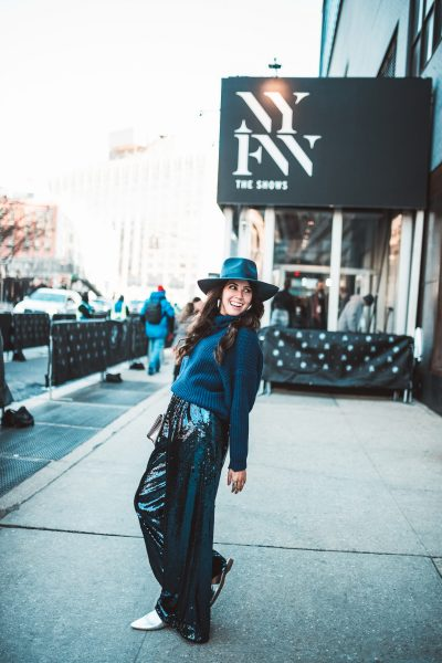 How to Wear Sequins in the Winter   Greta Hollar