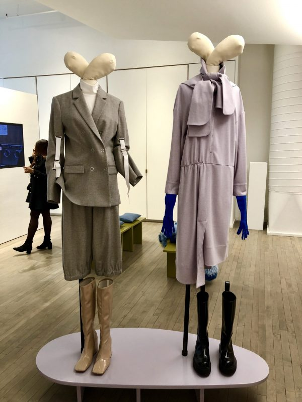 NYFW February Recap by popular US tall fashion blogger, Greta Hollar: image of Tibi fashion presentations.