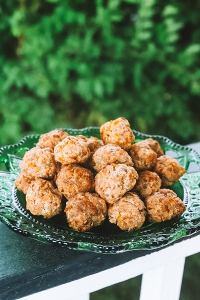 Hollar Homemade: Easy Sausage Balls Recipe   Greta Hollar
