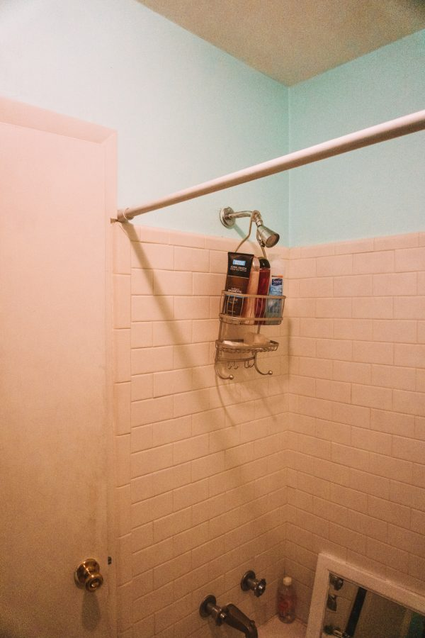 Before and After: Guest Bathroom Paint Colors with Sherwin Williams   Greta Hollar