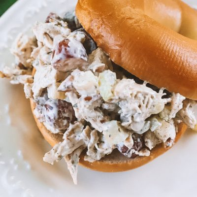 Easy Lunch Ideas: Quick Chicken Salad Recipe   Greta Hollar