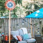 Backyard Makeover: Americana Decor with Old Time Pottery | Greta Hollar