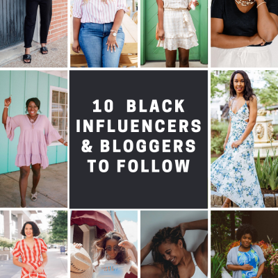 Top 10 Black Influencers and Bloggers to Follow | Greta Hollar