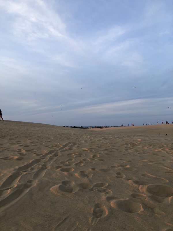 COVID Travel: The Best Things to Do Outer Banks, NC When Social Distancing | Greta Hollar |  Outer Banks NC by popular Nashville travel blogger, Greta Hollar: image of some Outer Banks sand dunes.