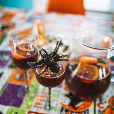 Hallowine: Halloween Sangria Recipe | Greta Hollar