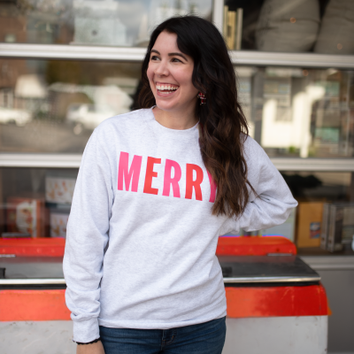 5 of My Favorite Cute Christmas Sweaters | Greta Hollar
