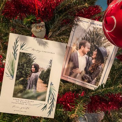 Holiday Cards with Basic Invite | Greta Hollar