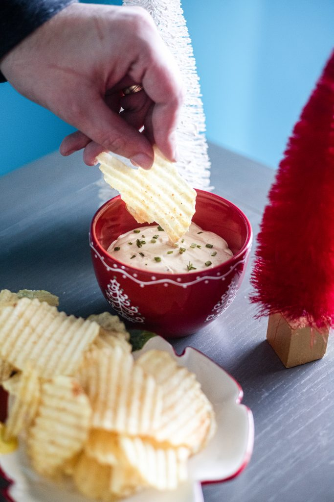 The Best Party Dip for a Night at Home | Greta Hollar
