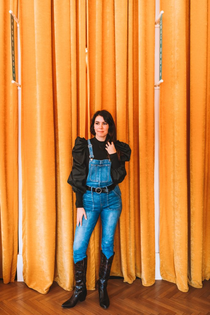 Winter Fashion: Best Overalls for the Tall Woman | Greta Hollar