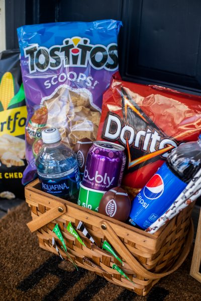 Game Day Gift Baskets | Greta Hollar