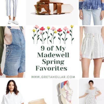 9 Madewell Spring Favorites for Tall Women | Greta Hollar