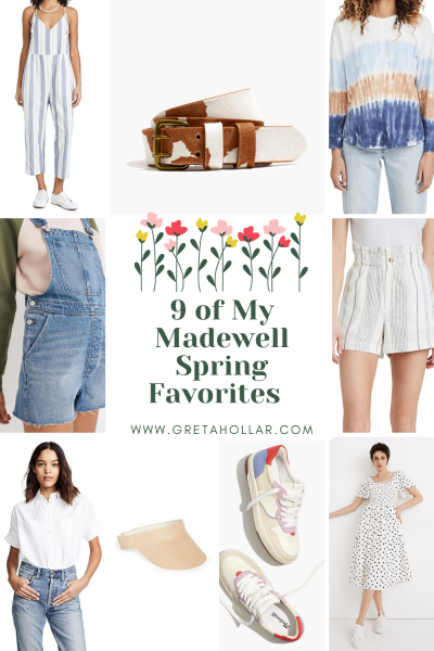 9 Madewell Spring Favorites for Tall Women | Greta Hollar
