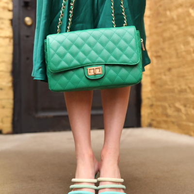 St. Patrick's Day Fashion 3 Outfit Ideas for Tall Women | Greta Hollar