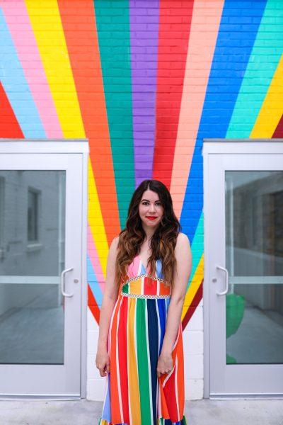 7 CuteRainbowDresses for Women to Celebrate PRIDE Month | Greta Hollar
