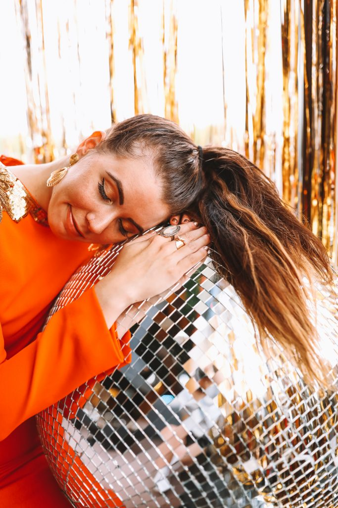 What to Wear to a Disco-Themed Party   Greta Hollar