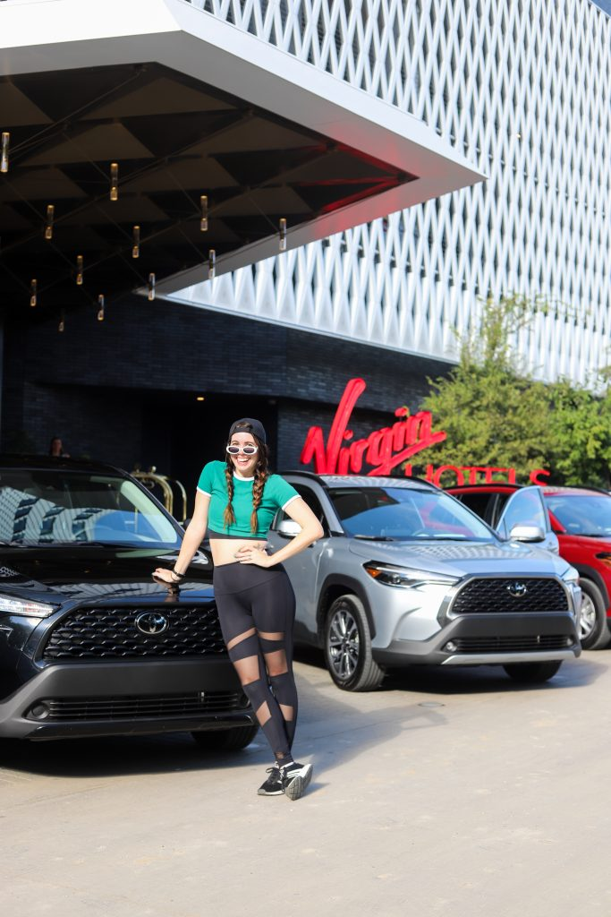 2022 Toyota Corolla Cross Review featured by top Nashville lifestyle blogger, Greta Hollar