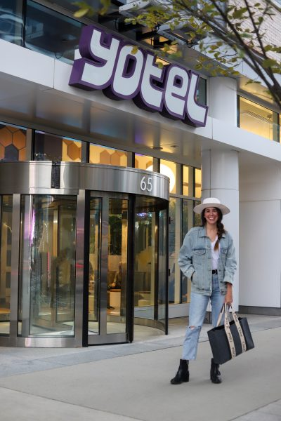 Yotel Boston Seaport Review featured by top US travel blogger, Greta Hollar